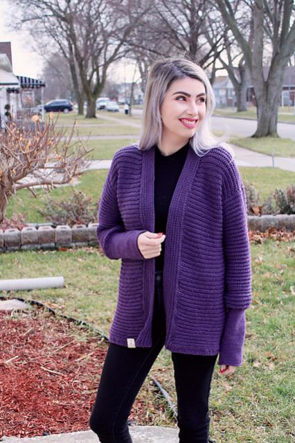 Easy Amethyst Cardi for Women, XS-5X-am2-jpg