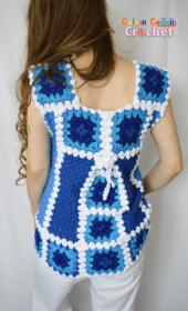 January Blues Afghan Top for Women, M only-top2-jpg
