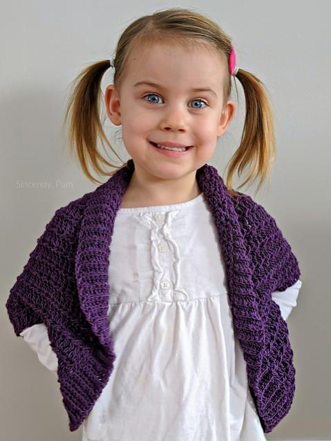Ragged Falls Cocoon Shrug for Children, 2-12 and Adult, S-5XL-falls3-jpg