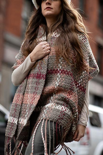 Rosebridge Plaid Blanket Scarf for Women-rose2-jpg