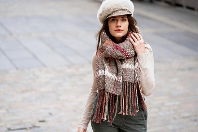 Rosebridge Plaid Blanket Scarf for Women-rose3-jpg