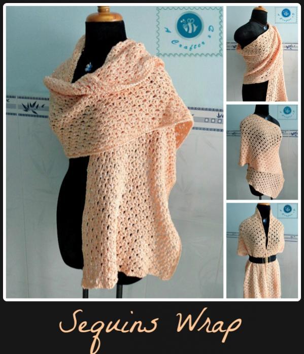 Sequins Wrap for Women-wrap1-jpg