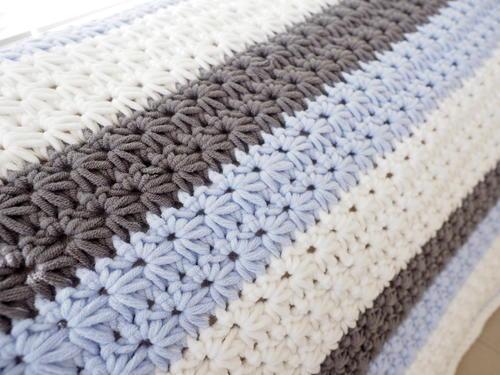 Star Stitch Striped Baby Blanket Free Crochet Pattern (English)-star-stitch-striped-baby-blanket-free-crochet-pattern-jpg