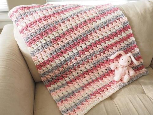 Cross-Over Block Stitch Blanket Free Crochet Pattern (English)-cross-block-stitch-blanket-free-crochet-pattern-jpg