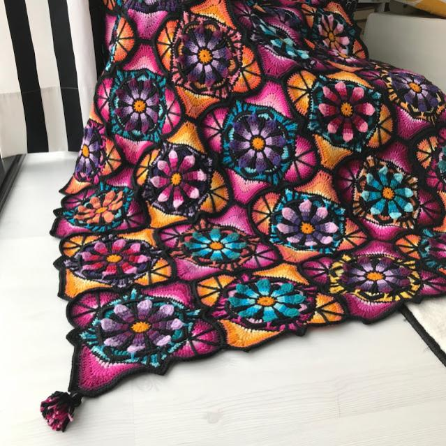 Stained Glass Flower Square and Blanket-flower5-jpg