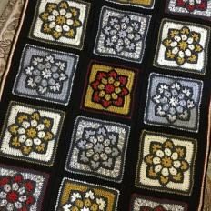 Stained Glass Flower Square and Blanket-flower2-jpg