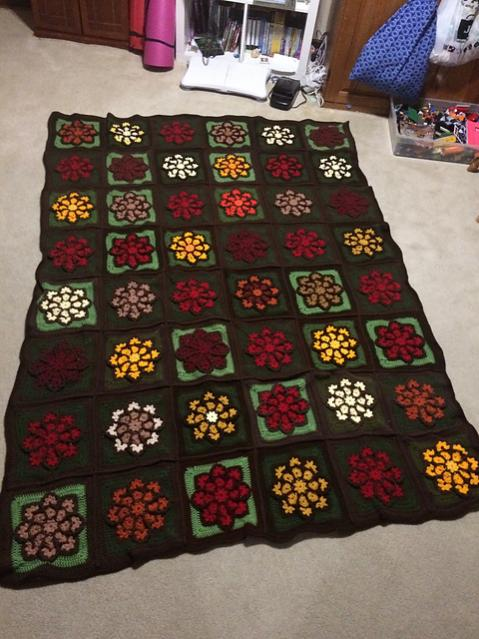 Stained Glass Flower Square and Blanket-flower4-jpg