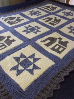 How to Crochet a Tunisian Afghan-afghan5-jpg