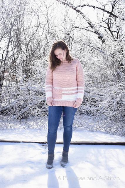 Easy Crochet Pullover for Women, XS-3X-pullover3-jpg