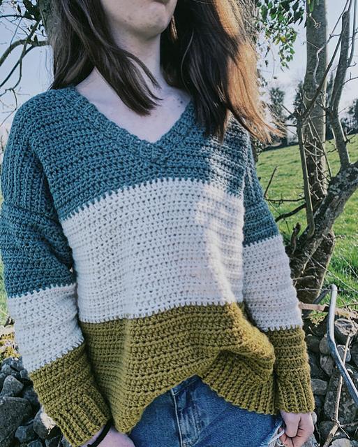 V Neck Sweater for Women, S-5XL-sweater3-jpg