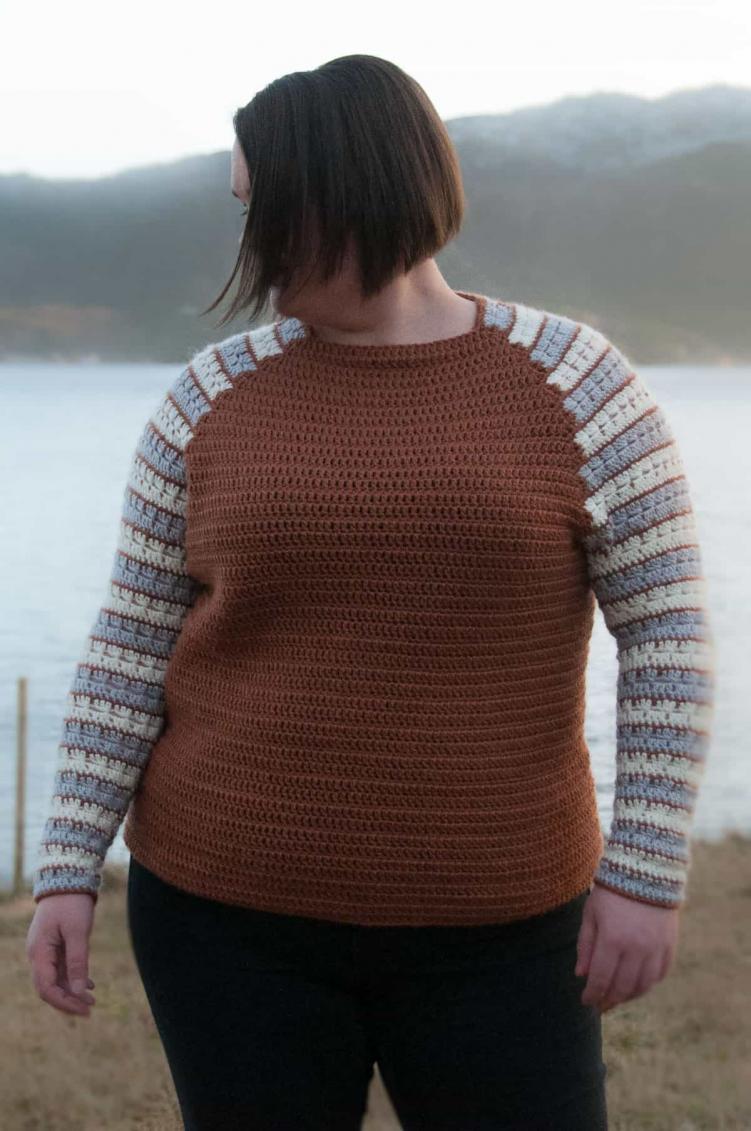 The Sleeves Raglan Pullover for Women, XS-5XL-pull4-jpg