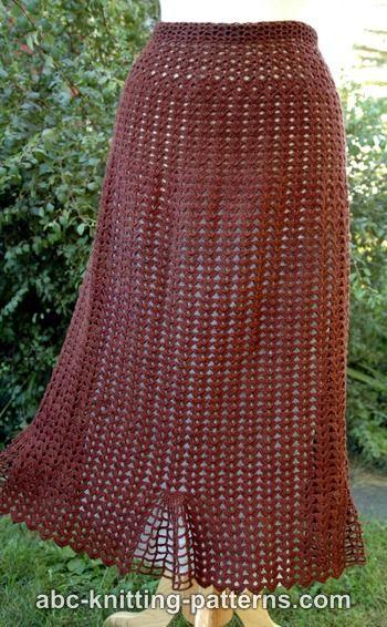 Shell Summer Skirt for Women, S-5X-skirt1-jpg
