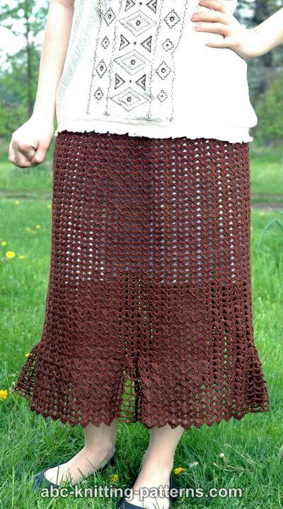 Shell Summer Skirt for Women, S-5X-skirt2-jpg