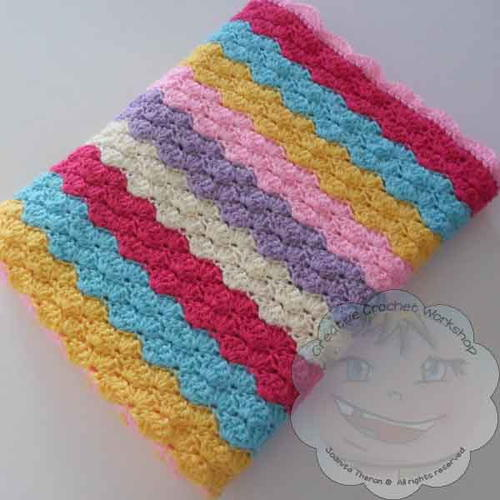 Rainbow Shells Baby Blanket Free Crochet Pattern (English)-rainbow-shells-baby-blanket-free-crochet-pattern-jpg