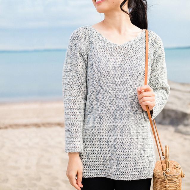 Ocean Breeze V Neck Sweater for Women, XS-3XL-breeze1-jpg