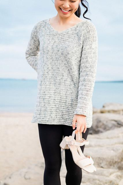 Ocean Breeze V Neck Sweater for Women, XS-3XL-breeze4-jpg
