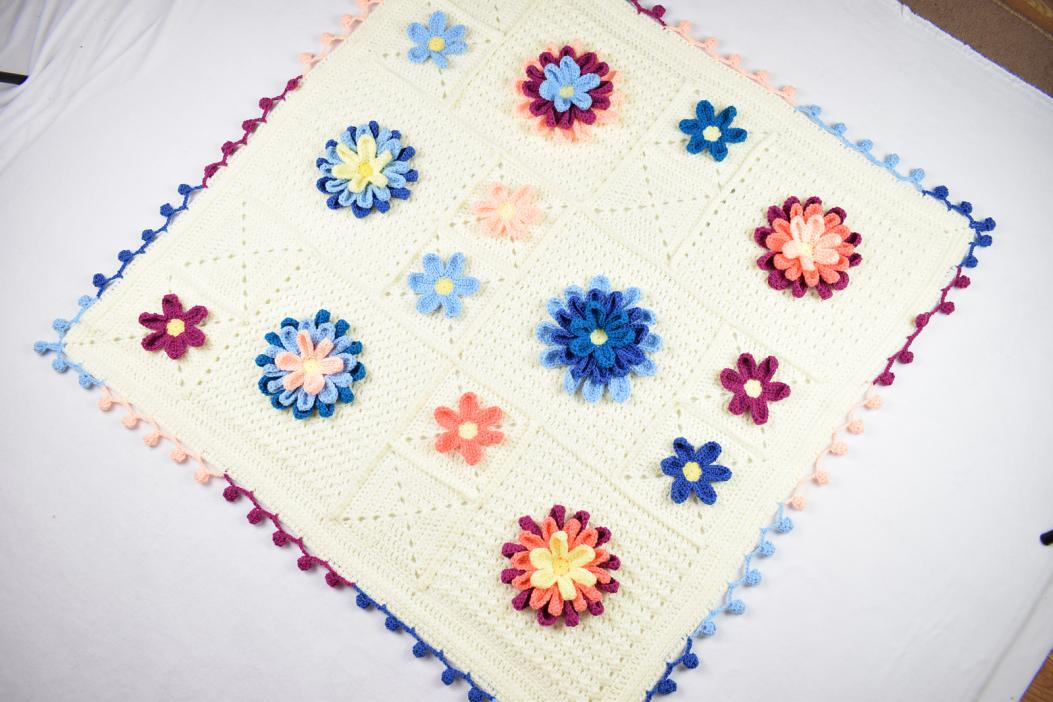 Blooming Spring Blanket and Butterfly Applique-bloom2-jpg