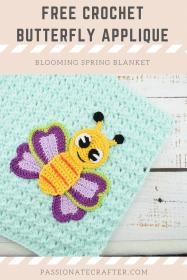 Blooming Spring Blanket and Butterfly Applique-bloom5-jpg