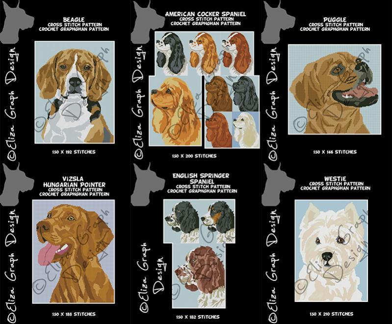 American cocker spaniel, English springer spaniel, Puggle, Vizsla, Westie-unitled-18s-jpg