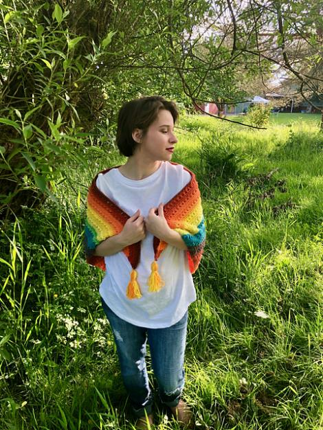 Colorful Triangle Shawl-shawl2-jpg