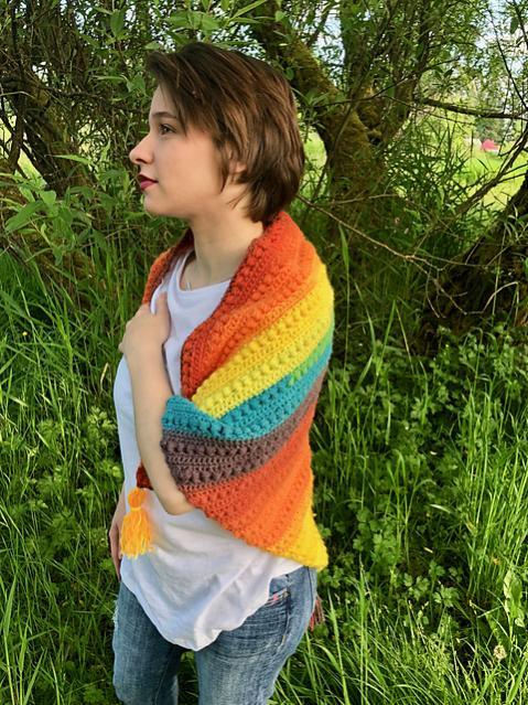 Colorful Triangle Shawl-shawl3-jpg