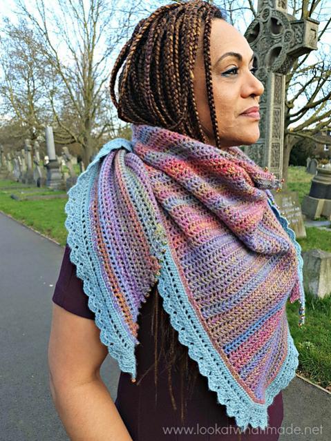 Hide and Seek in the Hydrangea Shawl-shawl1-jpg
