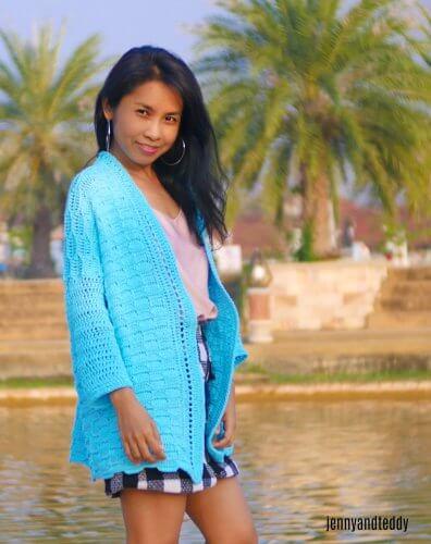 Blue Weave Cardigan for Women, S-3XL-cardi2-jpg