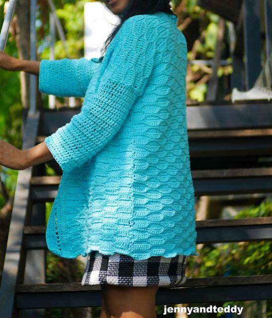 Blue Weave Cardigan for Women, S-3XL-cardi1-jpg