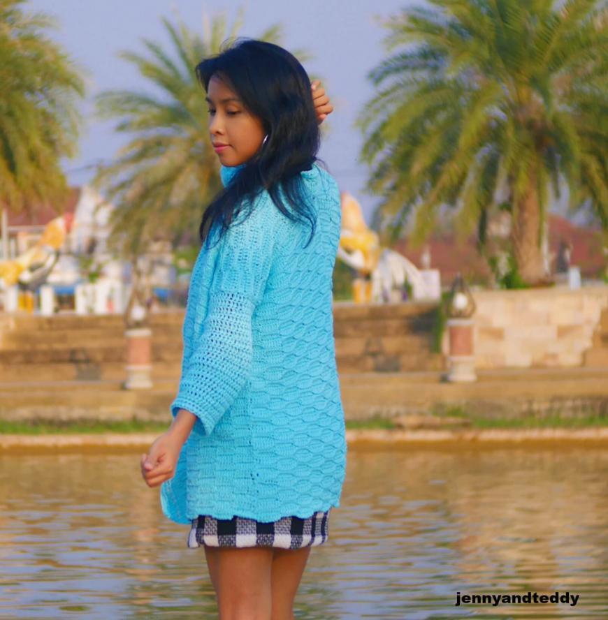 Blue Weave Cardigan for Women, S-3XL-cardi3-jpg