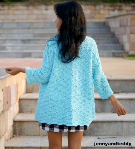 Blue Weave Cardigan for Women, S-3XL-cardi4-jpg