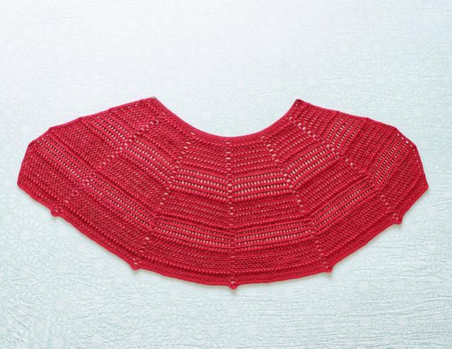 Red Riding Shawlette for Women-shawl1-jpg