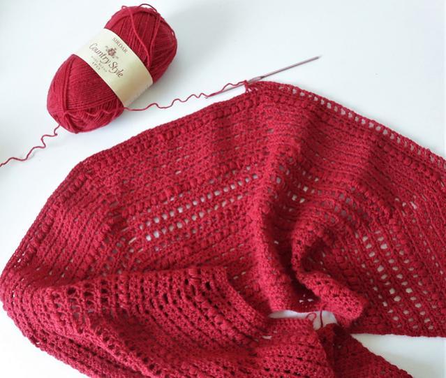 Red Riding Shawlette for Women-shawl2-jpg