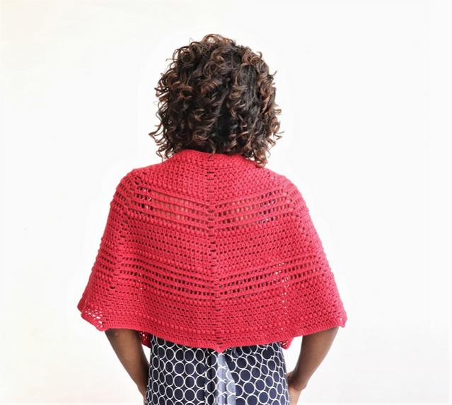 Red Riding Shawlette for Women-shawl3-jpg