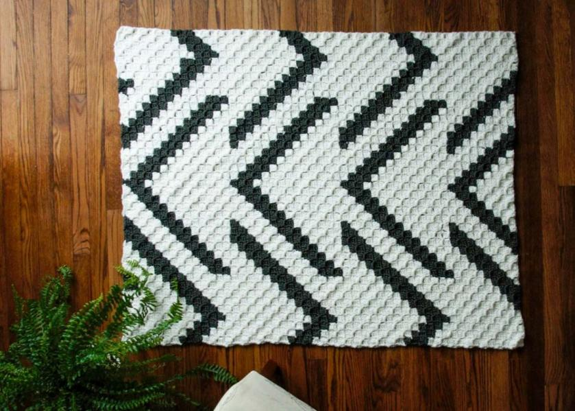 Modern C2C Blanket and Pillow Cover-baby1-jpg