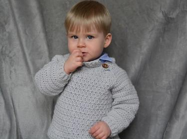 Lazy Day Sweater fpr Children. 0 mos to 7 yrs-a2-jpg