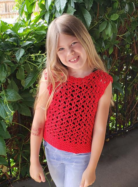 Marielle Lace Tee for Girls, size 2-12-a2-jpg