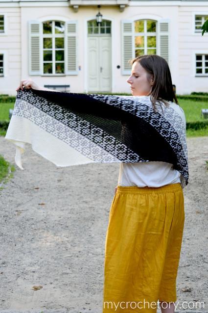 Monochrome Bias Wrap for Women-b2-jpg