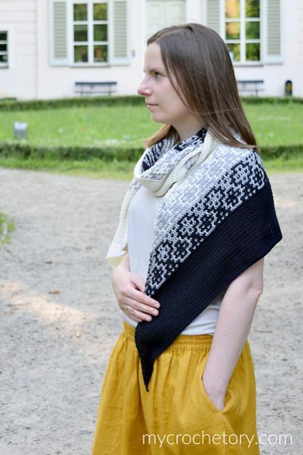 Monochrome Bias Wrap for Women-b4-jpg