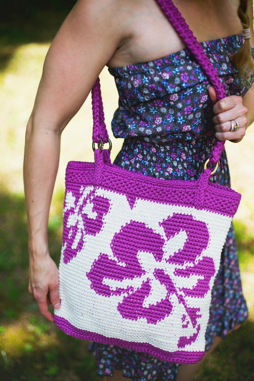 Hibiscus Tote Bag Free Crochet Pattern (English)-hibiscus-tote-bag-free-crochet-pattern-jpg