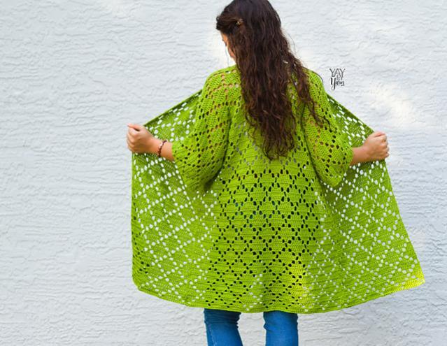 Diamond Kimono for Women, XS-5-b2-jpg