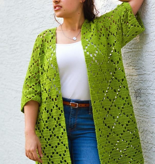 Diamond Kimono for Women, XS-5-b4-jpg