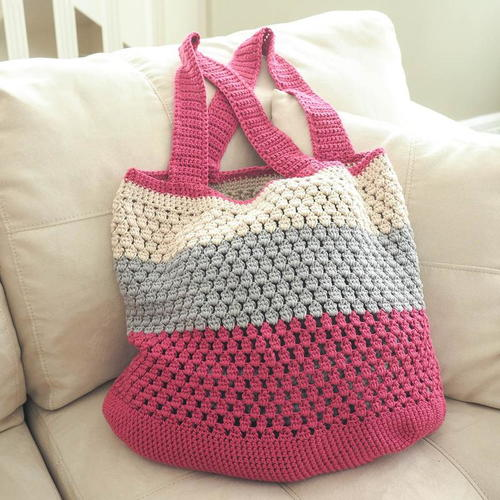 Puff Stitch Market Bag Free Crochet Pattern (English)-puff-stitch-market-bag-free-crochet-pattern-jpg