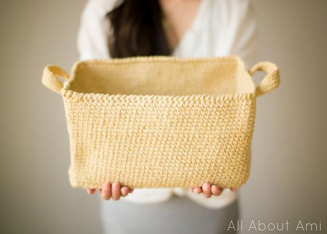 Rustic Tweed Basket-d1-jpg