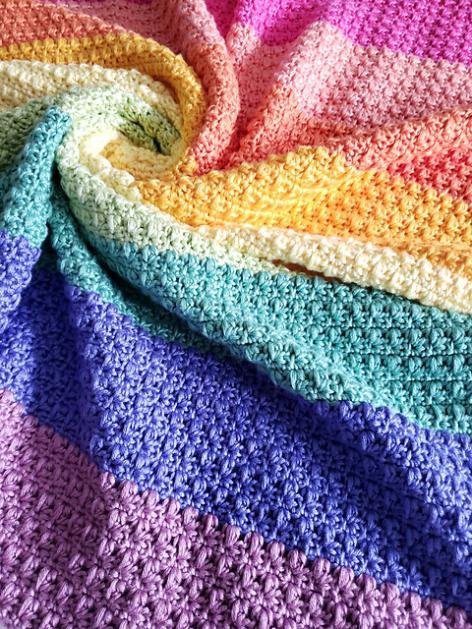 Rainbow  Isles Baby Blanket-b1-jpg