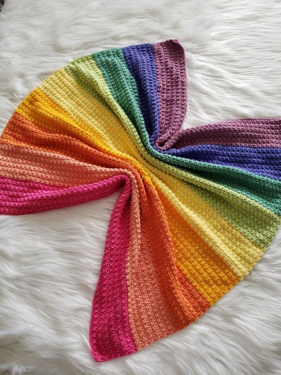 Rainbow  Isles Baby Blanket-b2-jpg