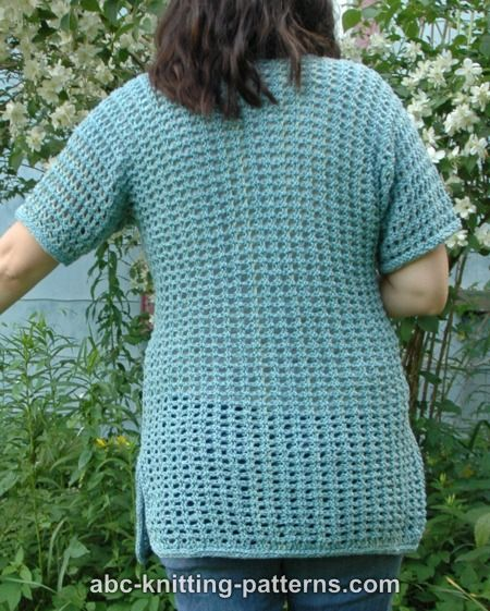 Subtle Mesh Summer Sweater for Women, S-2X, knit-e3-jpg