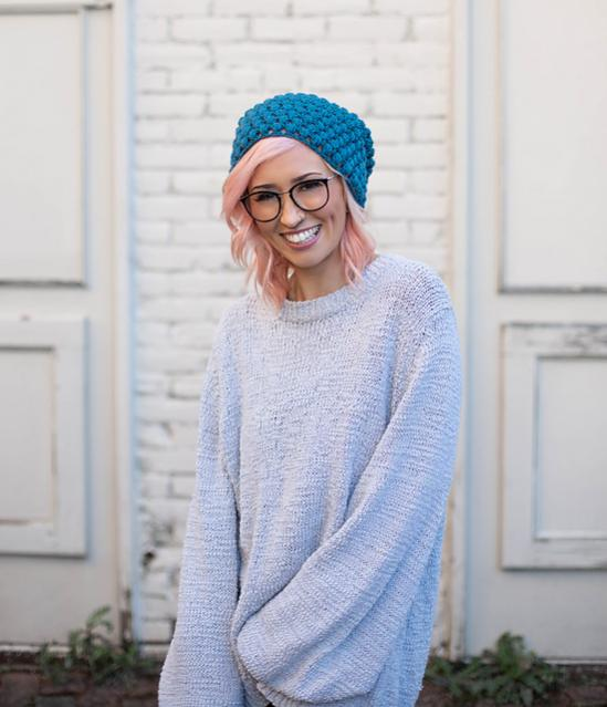 Perfectly Puff Beanie and Cowl Set for Women-c4-jpg
