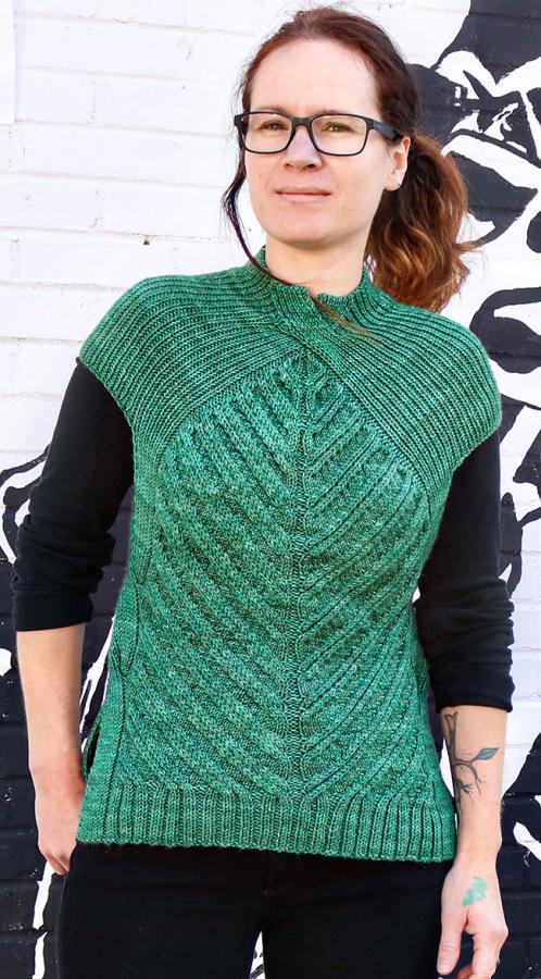 Open Road Vest fpr Women, XS-5X , knit-d2-jpg