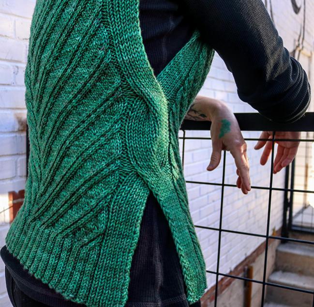 Open Road Vest fpr Women, XS-5X , knit-d4-jpg