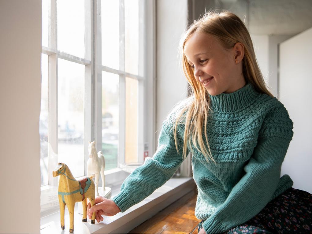 Kirken Pullover for Children, 2-12 yrs, knit-e1-jpg